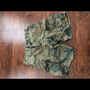 American Eagle Camo Shorts